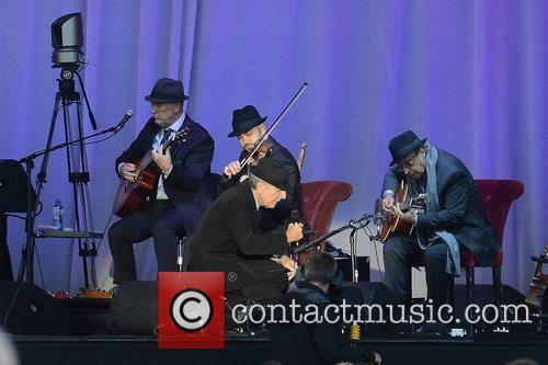 Leonard Cohen performs at the Royal Hospital Kilmainham,...