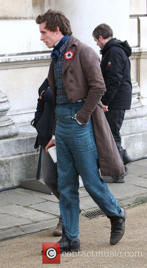 On the set of Les Miserables in Greenwich