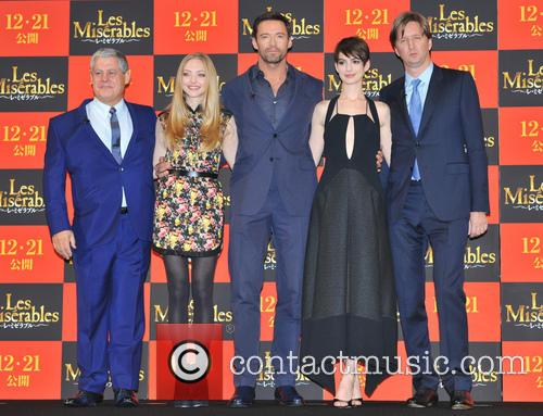 The Premiere, Les Miserables, Cameron Mackintosh, Amanda Seyfried, Hugh Jackman, Anne Hathaway and Tom Hooper 3