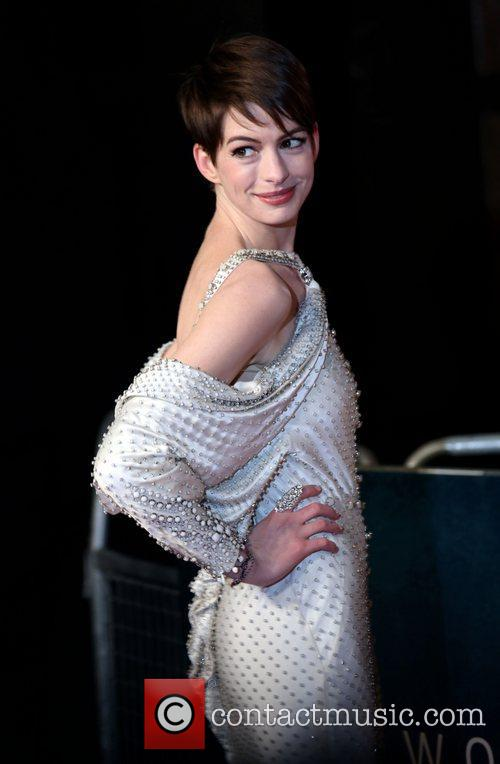 Anne Hathaway and Empire Leicester Square 2