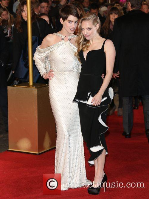 Anne Hathaway, Amanda Seyfried and Empire Leicester Square 3