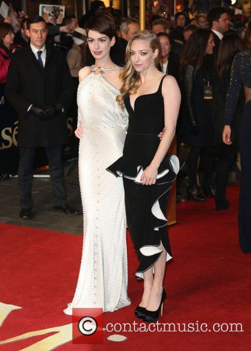 Anne Hathaway, Amanda Seyfried, Empire Leicester Square