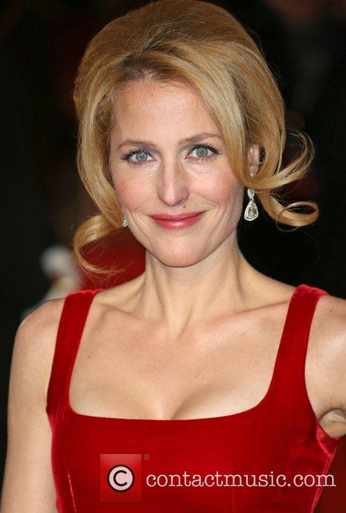 Gillian Anderson and Empire Leicester Square 8