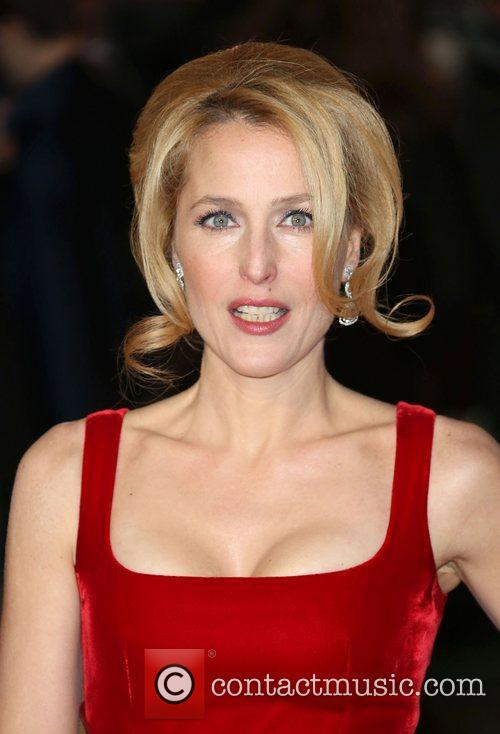 Gillian Anderson and Empire Leicester Square 7