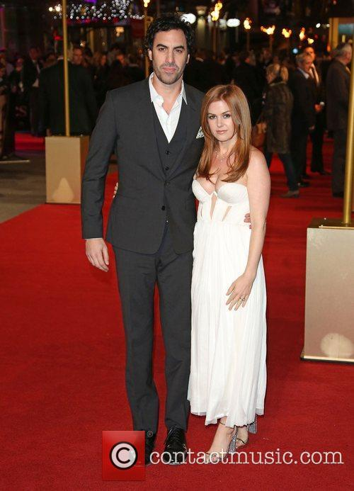 Isla Fisher, Sasha Baron Cohen and Empire Leicester Square 8
