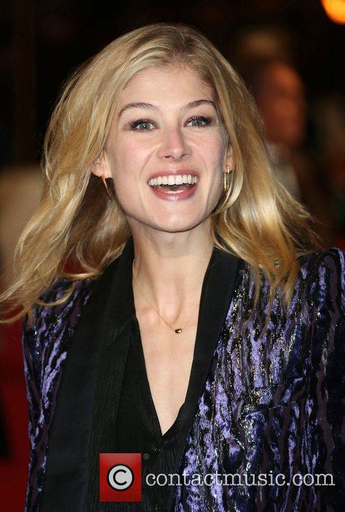 Rosamund Pike and Empire Leicester Square 1