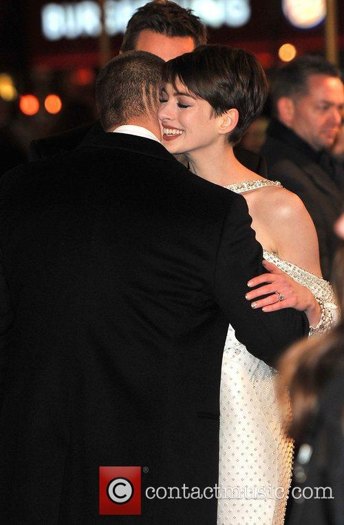 Anne Hathaway, Russell Crowe and Empire Leicester Square 2