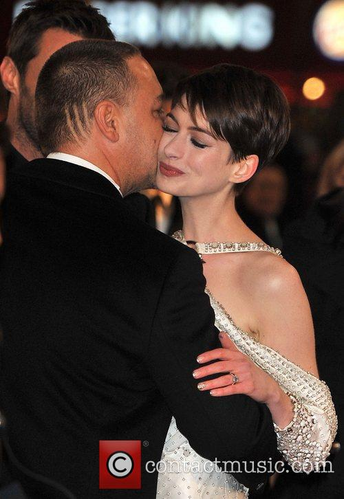 Anne Hathaway, Russell Crowe and Empire Leicester Square 1