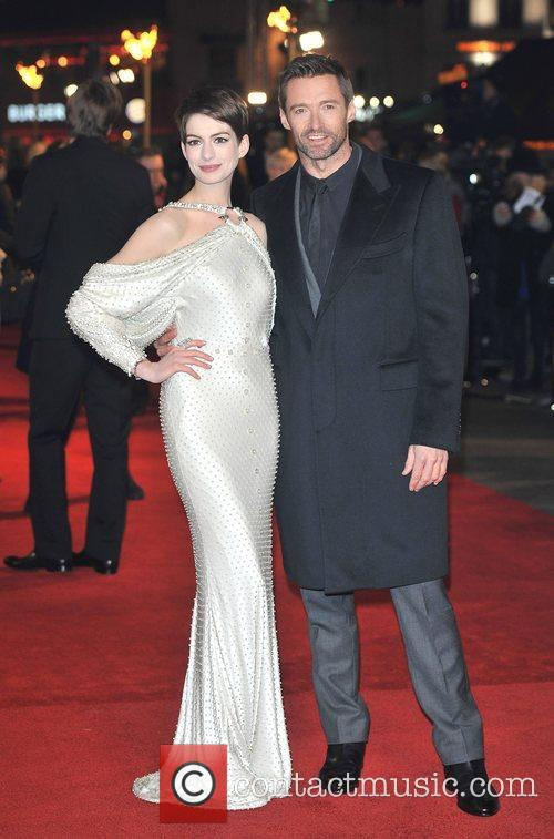 Hugh Jackman, Anne Hathaway and Empire Leicester Square 5