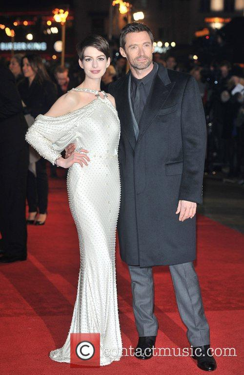 Hugh Jackman, Anne Hathaway and Empire Leicester Square 2