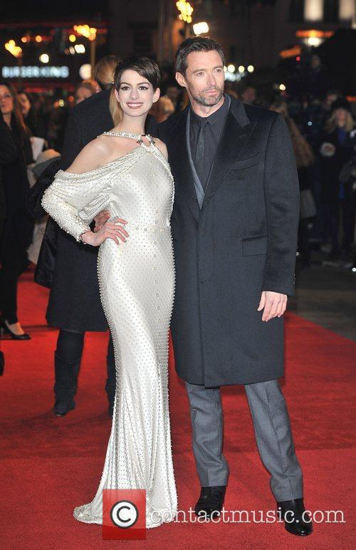 Hugh Jackman, Anne Hathaway and Empire Leicester Square 3