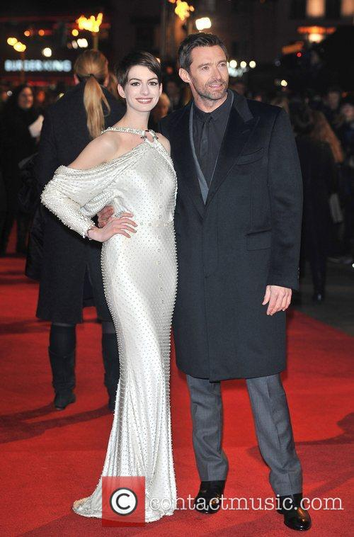 Hugh Jackman, Anne Hathaway and Empire Leicester Square 6