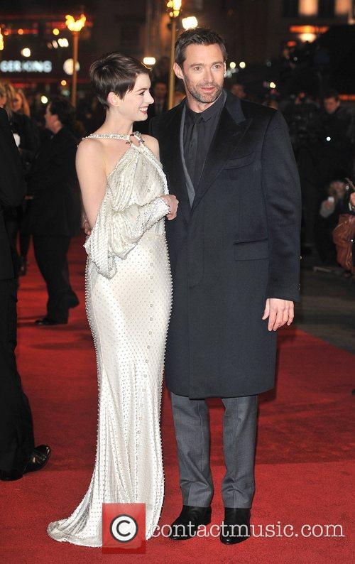 Hugh Jackman, Anne Hathaway and Empire Leicester Square 7