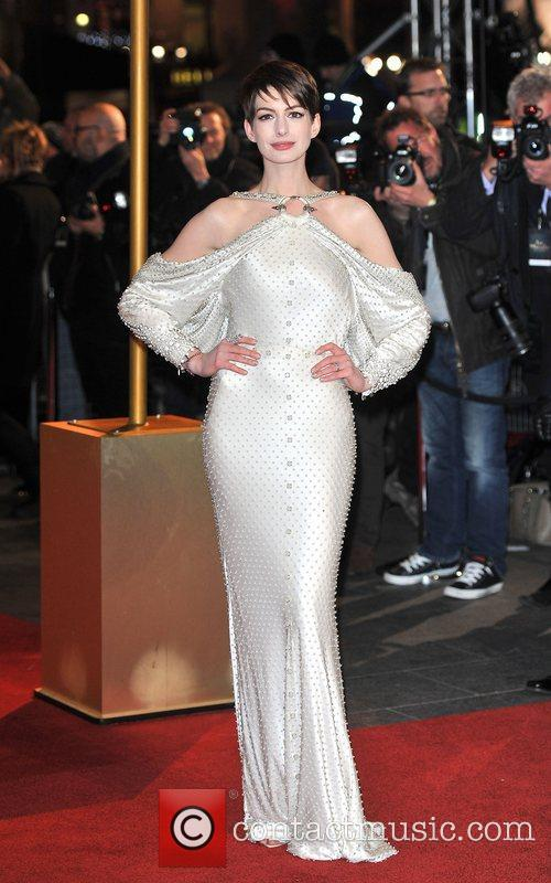 Anne Hathaway and Empire Leicester Square 42