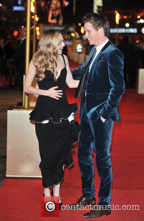 Amanda Seyfreid and Eddie Redmayne Les Miserables World...