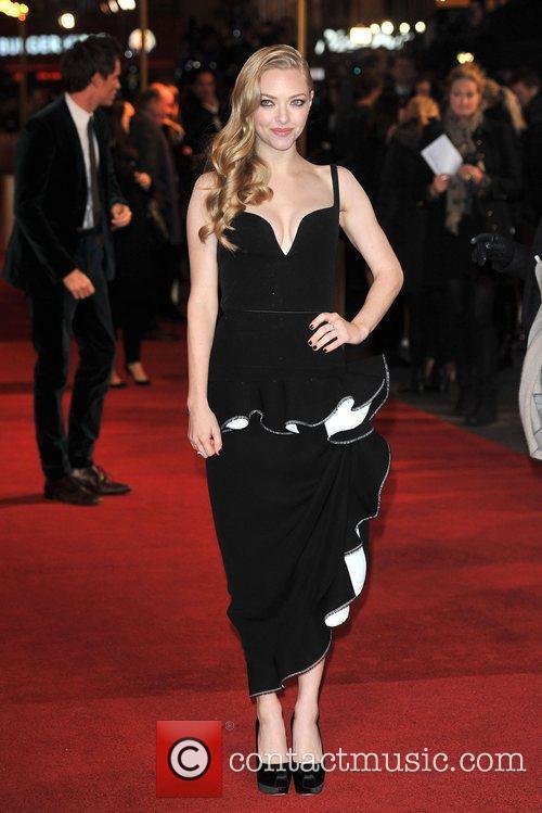 Amanda Seyfreid Les Miserables World Premiere held at...