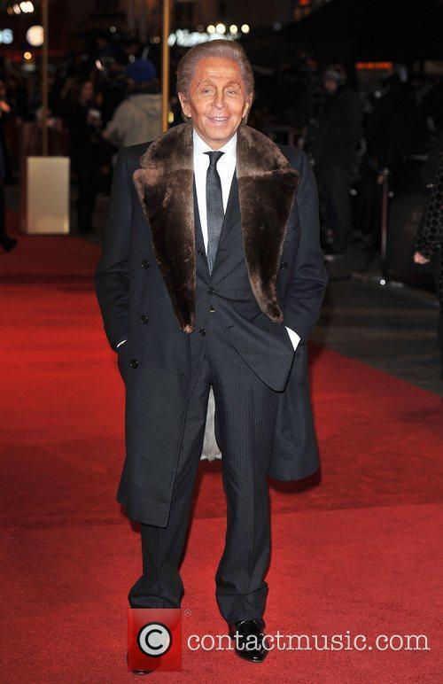 Valentino Garavani Les Miserables World Premiere held at...
