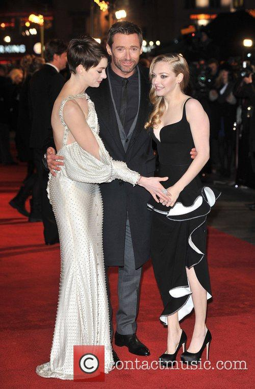 Hugh Jackman, Anne Hathaway, Amanda Seyfreid and Empire Leicester Square 2