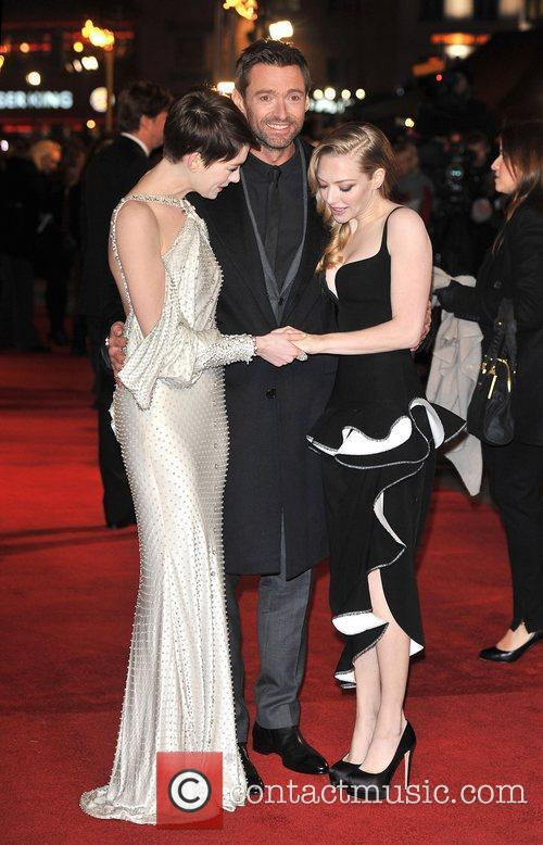 Hugh Jackman, Anne Hathaway, Amanda Seyfreid and Empire Leicester Square 1