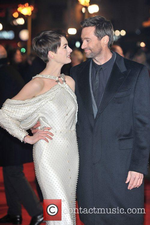 Hugh Jackman, Anne Hathaway and Empire Leicester Square 8