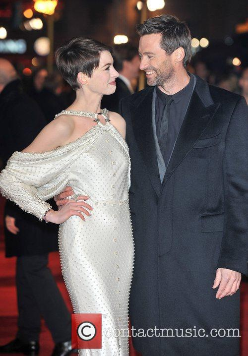 Hugh Jackman, Anne Hathaway and Empire Leicester Square 1