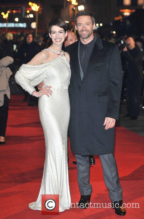 Hugh Jackman, Anne Hathaway and Empire Leicester Square 9