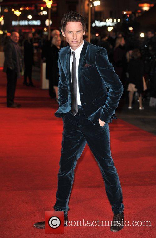 Eddie Redmayne Les Miserables World Premiere held at...