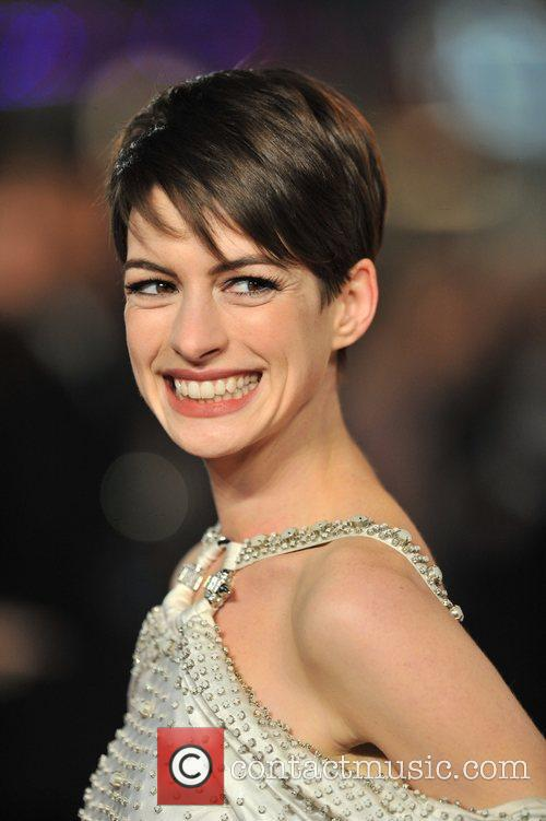 Anne Hathaway and Empire Leicester Square 7