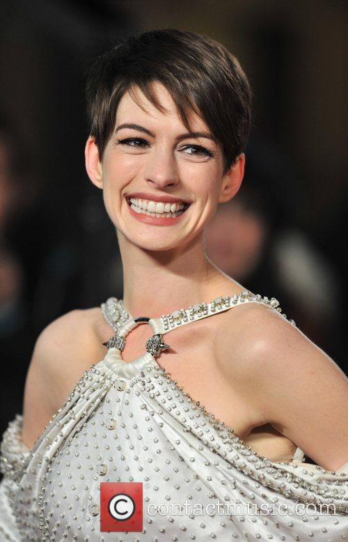 Anne Hathaway and Empire Leicester Square 8