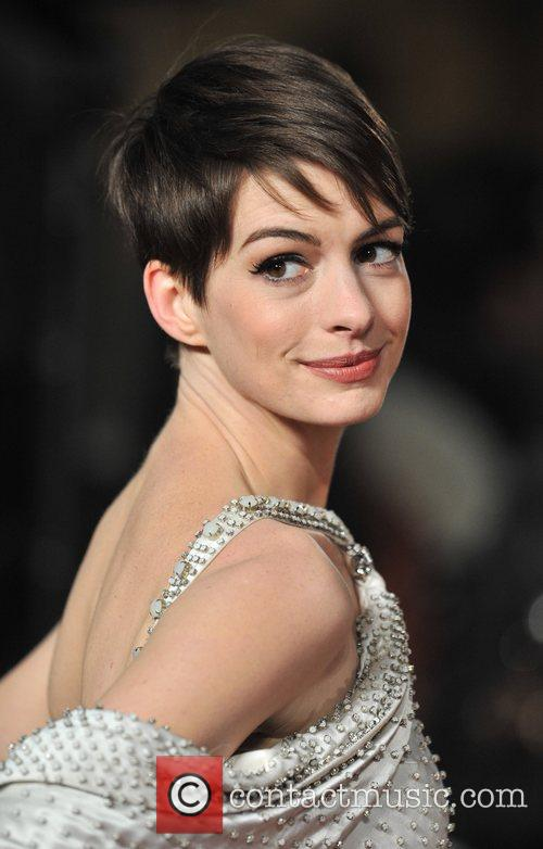 Anne Hathaway and Empire Leicester Square 9