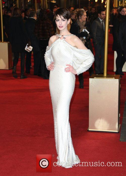 Anne Hathaway World Premiere of 'Les Miserables' held...
