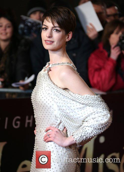 Anne Hathaway and Empire Leicester Square 6