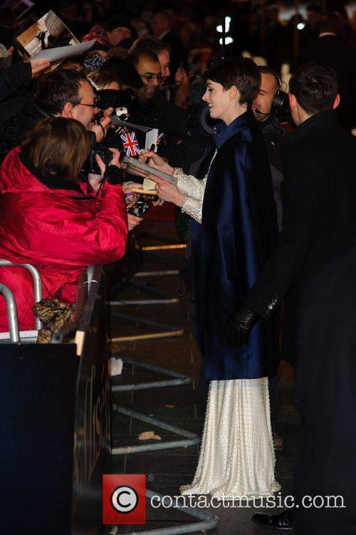 Anna Hathaway and Empire Leicester Square 2