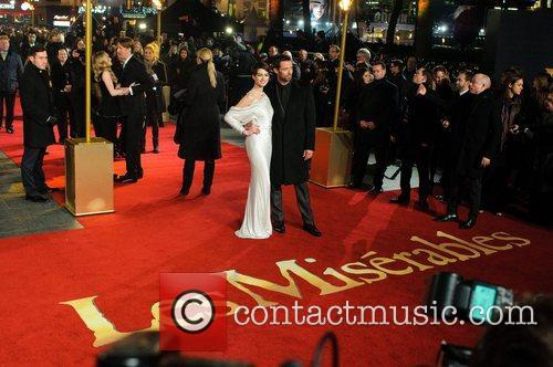 Anne Hathaway, Hugh Jackman, Empire Leicester Square