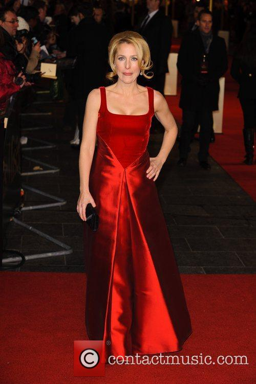 Gillian Anderson and Empire Leicester Square 3