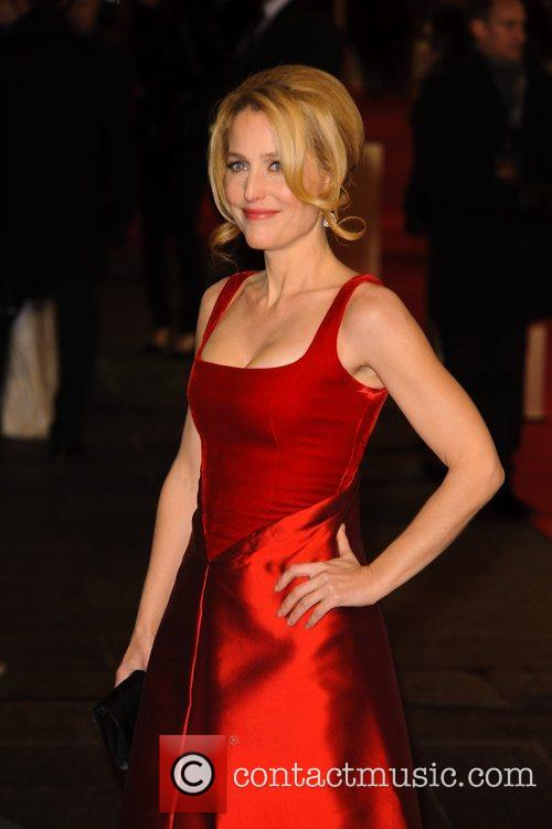 Gillian Anderson and Empire Leicester Square 2