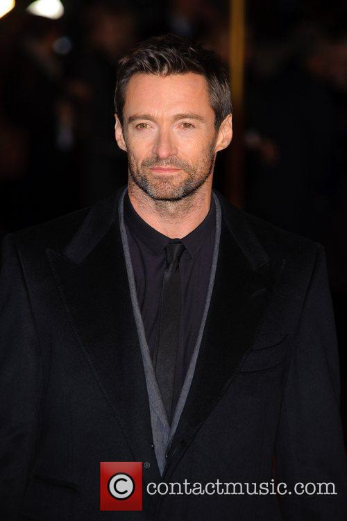 Hugh Jackman and Empire Leicester Square 1