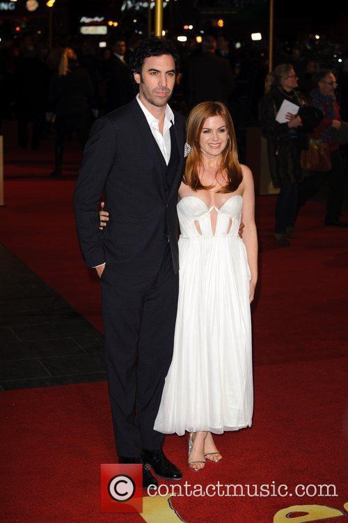 Sacha Baron Cohen, Isla Fisher and Empire Leicester Square 6