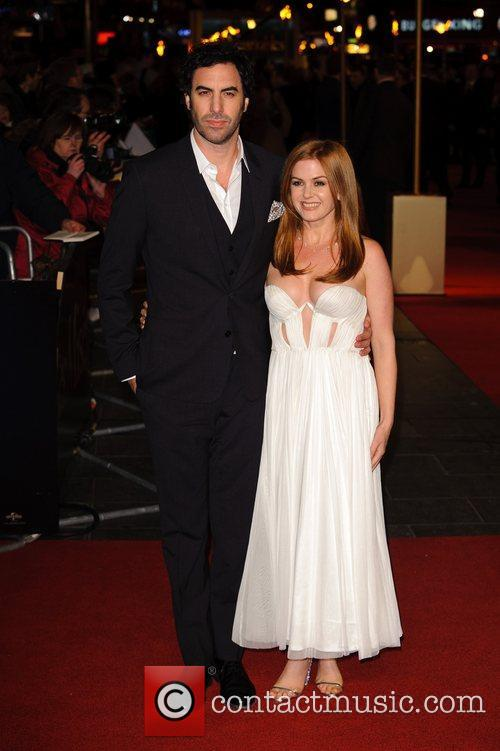 Sacha Baron Cohen, Isla Fisher and Empire Leicester Square 3