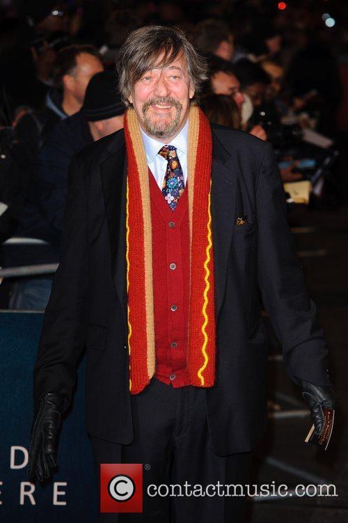 Steven Fry Les Miserables World Premiere held at...