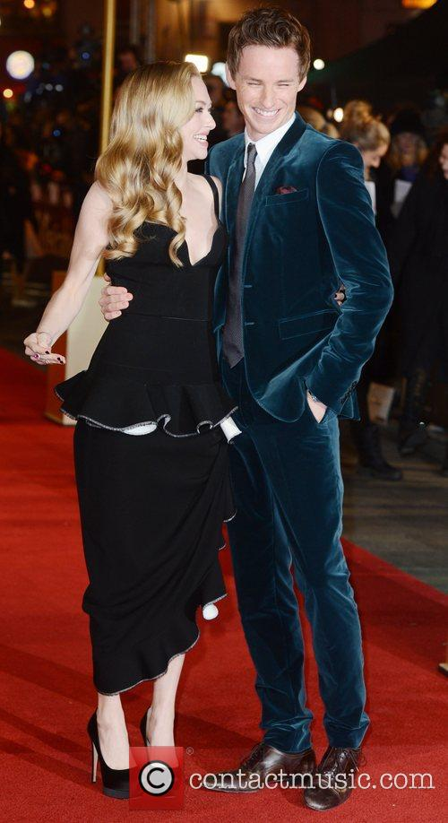 Amanda Seyfried, Eddie Redmayne, Les Miserable, Odeon, Leicester Square, London and England 5