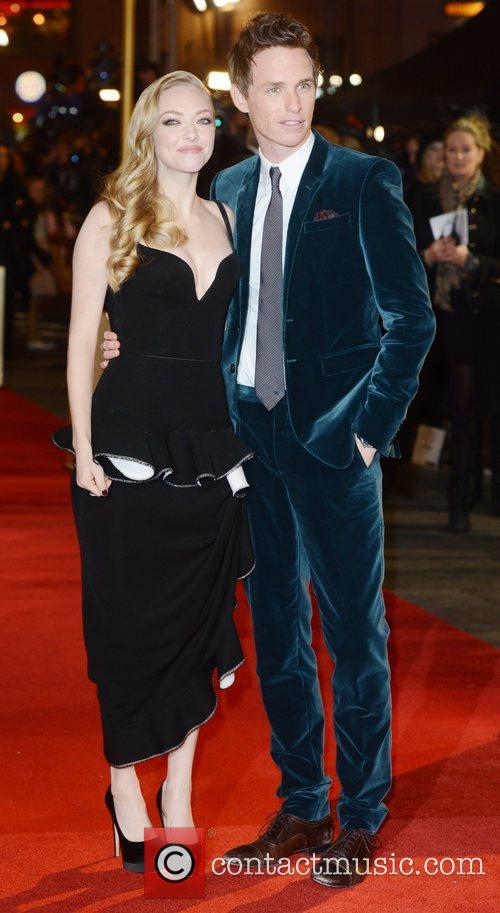 Amanda Seyfried, Eddie Redmayne, Les Miserable, Odeon, Leicester Square, London and England 4