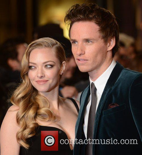 Amanda Seyfried, Eddie Redmayne, Les Miserable, Odeon, Leicester Square, London and England 6