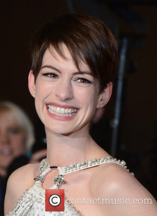 Anne Hathaway, Les Miserable, Odeon, Leicester Square, London and England 5