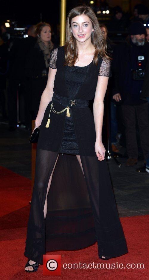 at the premiere of