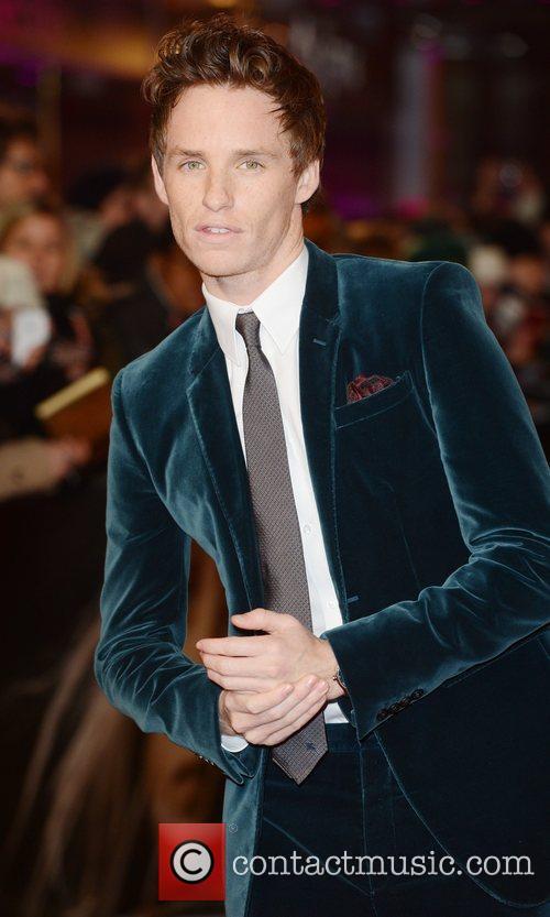 Eddie Redmayne at the premiere of