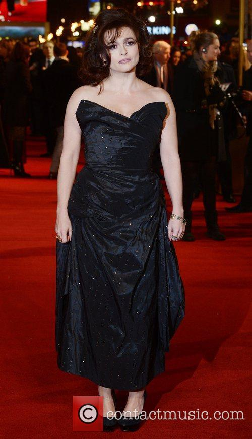 Helena Bonham Carter, Les Miserable, Odeon, Leicester Square, London, England