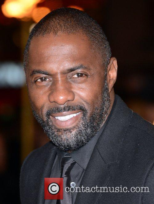Idris Elba, Les Miserable, Odeon, Leicester Square, London and England 2