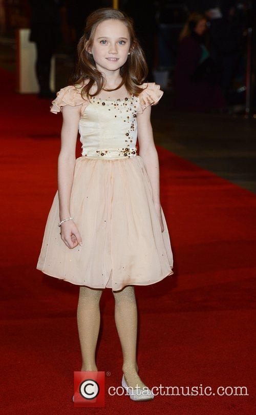 Isabelle Allen at the premiere of