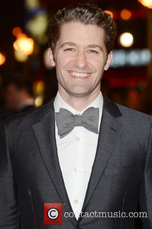 Matthew Morrison, Les Miserable, Odeon, Leicester Square, London and England 9
